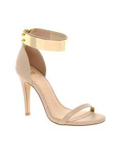 Gold Ankle Strap Sandal