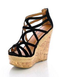 High Heel Wedge Sandals Pictures