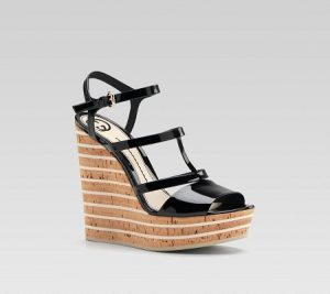 High Heeled Wedge Sandals