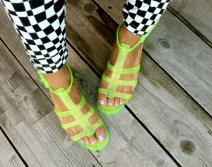 Images of Jelly Gladiator Sandals