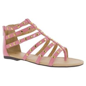 Images of Pink Gladiator Sandals