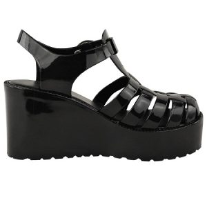 Jelly Wedge Sandal