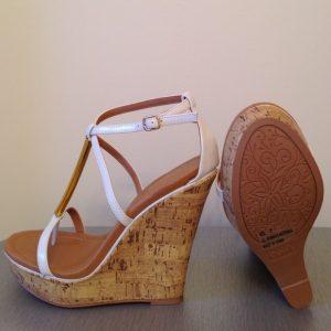 Pictures of High Heel Wedge Sandals
