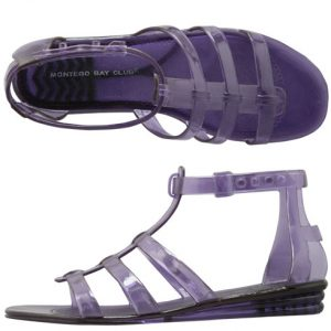 Pictures of Jelly Gladiator Sandals
