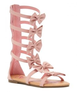 Pink Gladiator Sandals Images