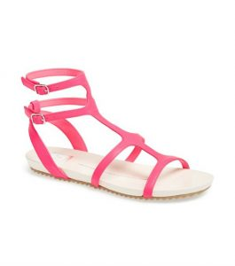 Pink Gladiator Sandals Pictures