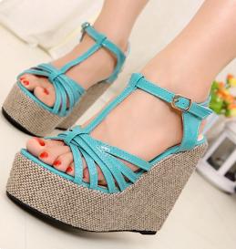 Wedge High Heels Sandals