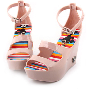 Wedge Jelly Sandals