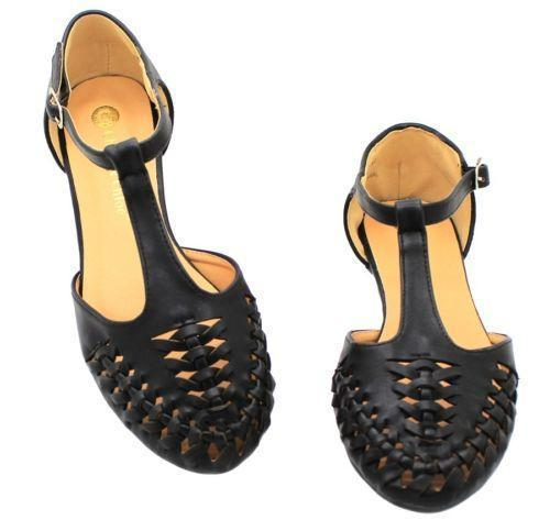 Womens Closed Toe Slingback Shoes