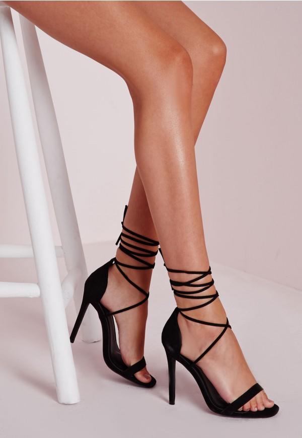 Black Lace-Up Sandals | Crafty Sandals