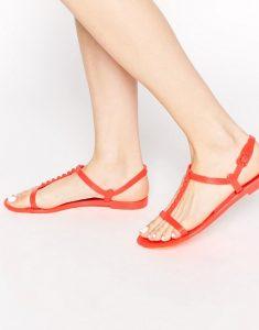 Flat Jelly Sandals Photos
