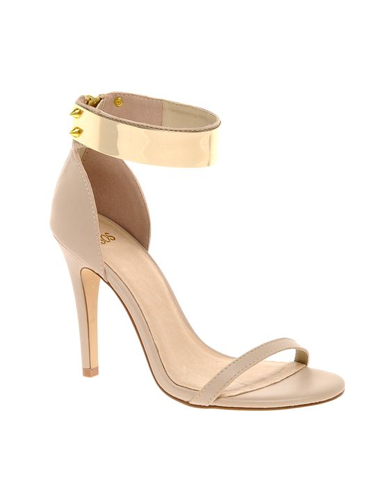 Gold Ankle-Strap Sandals | Crafty Sandals