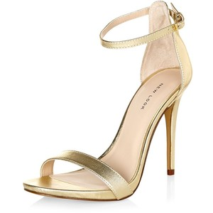 d8b5b5ccbc5 Gold Ankle-Strap Sandals