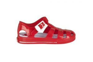 Jelly Red Sandals