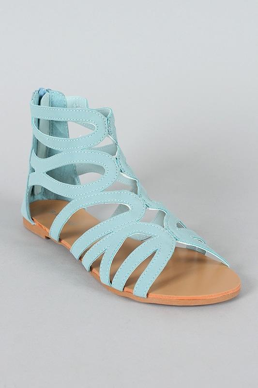 d2ca5ab6156 Light Blue Gladiator Sandals