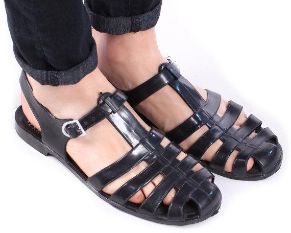 Men S Jelly Sandals Craftysandals Com