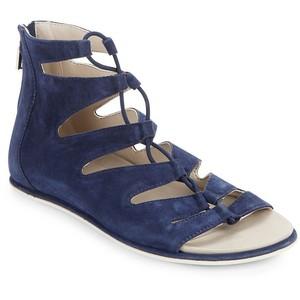 7e4406da0cc Navy Blue Gladiator Sandals