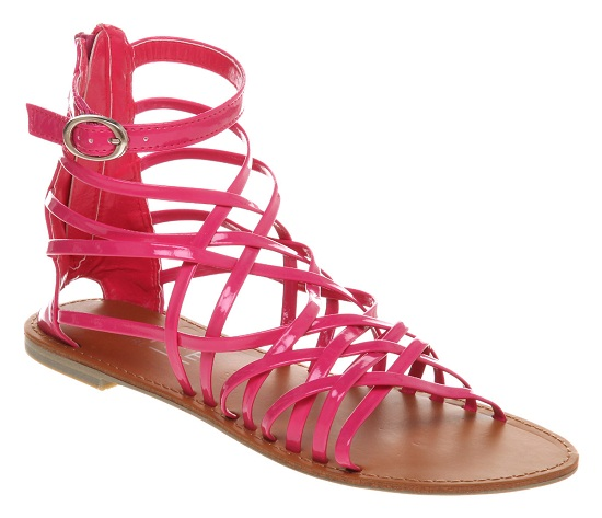 Pink Gladiator Sandals Craftysandals Com