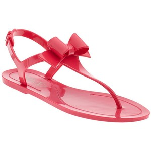 Red Jelly Sandal