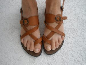 Strappy Thong Sandals Pictures