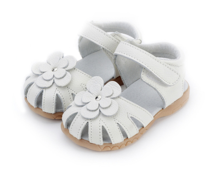 White Baby Sandals Images