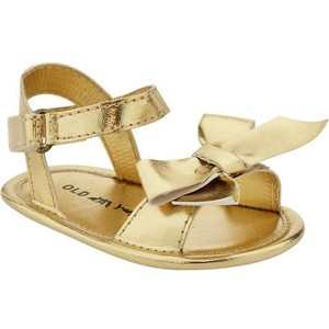 Baby Gold Sandals