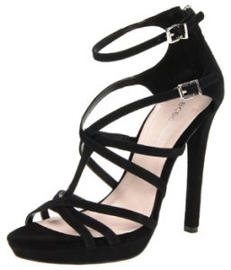 Black Strappy Platform Sandals