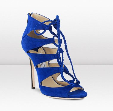 Blue Sandal Heels | Crafty Sandals