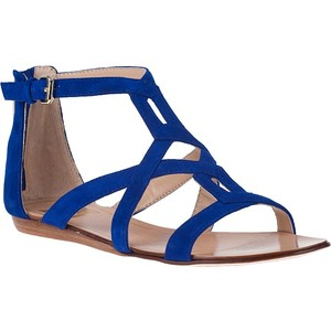 25c7ad50fffa Blue Strappy Sandals Images
