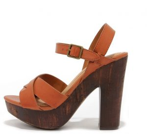 Brown Platform Sandal