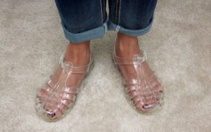 Clear Jelly Sandals for Women