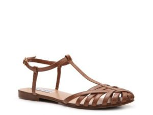 Closed Toe Flat Sandals