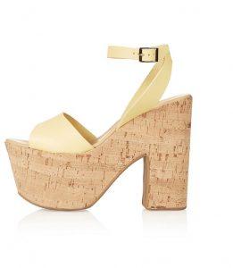 Cork Platform Sandals Images