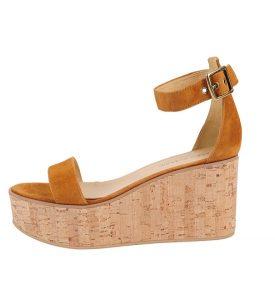 Cork Platform Sandals Pictures