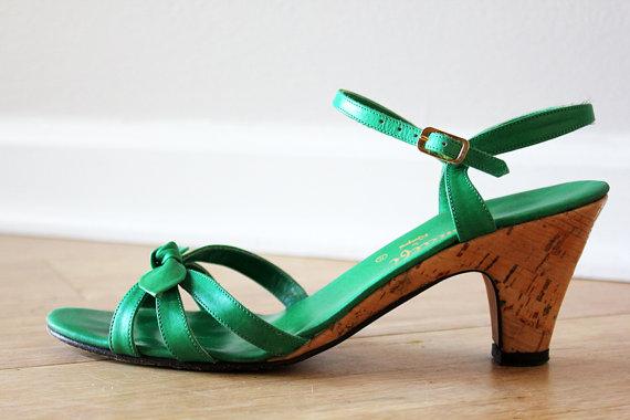1b190b60fd74 Emerald Green Sandals