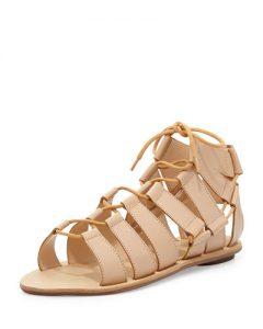 Gladiator Sandals Nude