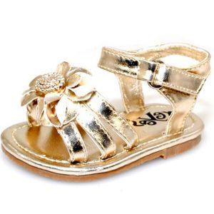 Gold Baby Sandals Pictures