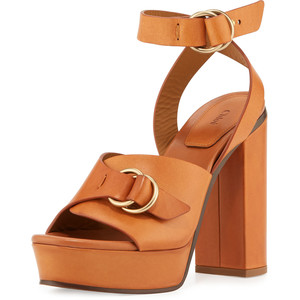 Images of Brown Platform Sandals