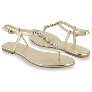 Images of Rhinestone Thong Sandals