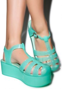 Jelly Platform Sandals Images