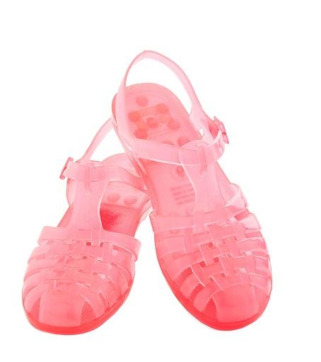 Pink Jelly Sandals Craftysandals Com