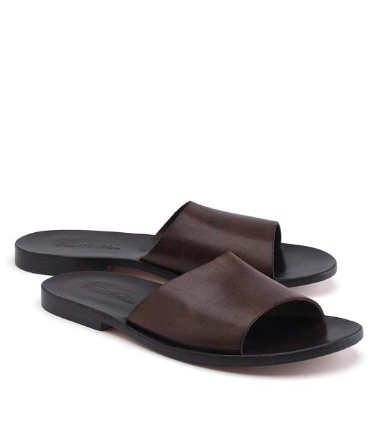 8c93ec76cb89 Leather Slide Sandals