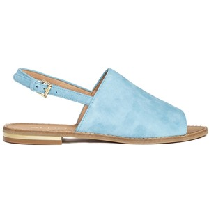 Light Blue Flat Sandals