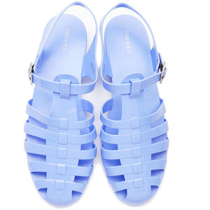 Light Blue Jelly Sandals