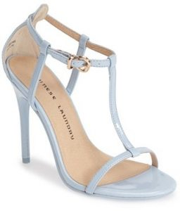 Light Blue Strappy Sandals