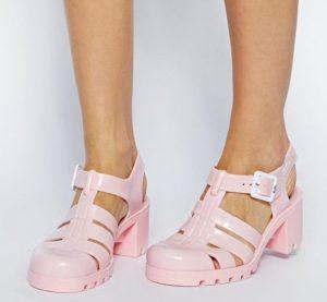 Light Pink Jelly Sandals