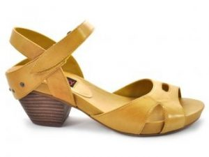 Low Heel Platform Sandals