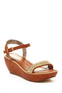 Low Platform Wedge Sandals