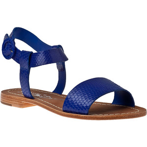 Pictures of Blue Flat Sandals