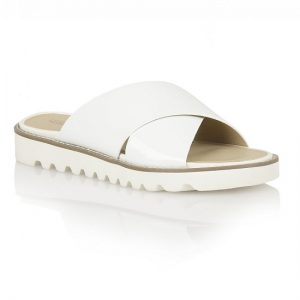 Pictures of White Slide Sandals